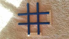 LEGO System Eisenbahn Schienen Set 4,5V / 12V blaue Kreuzung 1x