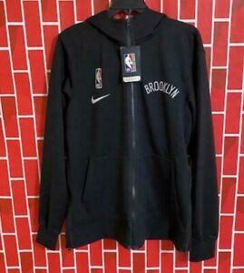 Men's Nike NBA Brooklyn Nets Therma Flex Warm-up Jacket CN4010-010 Size S Rare