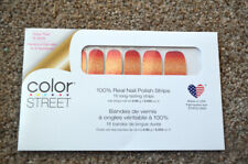 NEW RETIRED Color Street Set- Glitter Ombre Sunset Boulevard Red Pink Gold