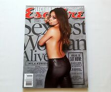 Mila Kunis Sexiest Woman Alive Esquire Magazine November 2012 New
