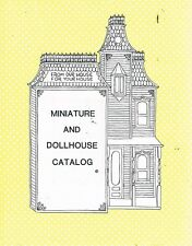 Miniature And Dollhouse Catalog by  - Book - Soft Cover - Craft / Hobbies