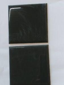 "VINTAGE charcoal NIB PLASTIC TILE 4 1/4"" wall bathroom kitchen"