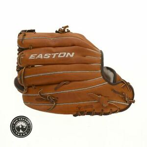 USED Easton 8065183 Professional Collection Baseball Glove in Brown / Black