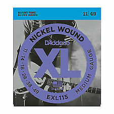 D'Addario EXL115 Electric Guitar Strings - Fast and Free UK Delivery.