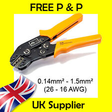 0.14-1.5mm2 Econoseal, Superseal Tyco Terminal Cable Crimp Tool PREMIUM Ratchet