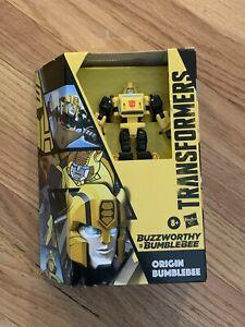 Transformers BUZZWORTHY ORIGIN BEE BUMBLEBEE Cybertronian Saucer Generations NEW