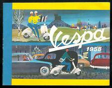 VESPA 1955 Catalogue Publicitaire Scooter 125 Brochure Dépliant ACMA en Français