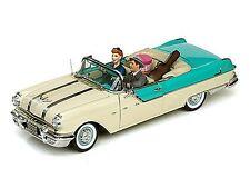 1955 Pontiac I Love Lucy w 2 figures  Luggage Guitar case 1:18 SunStar 5057