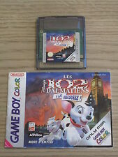 Disney's 102 Dalmatians - PAL / French - Nintendo Gameboy Color Game & Manual