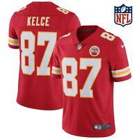 Kansas City Chiefs #87 Travis Kelce 2020 Super Bowl Stitched Jersey, Size: Large