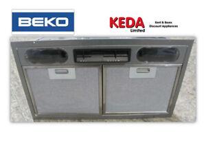 BEKO Canopy Cooker Hood Built in Kitchen Cupboard Integrated Extractor Fan .