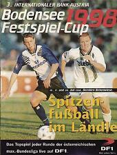 Bodensee Cup 1998 Rapid Wien, VfB Stuttgart, Hertha BSC, Hamburger SV