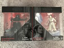 Star Wars The Black Series REY & KYLO REN Starkiller Base Lot 6'' Force Awakens