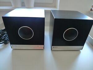 Teufel Raumfeld , Streaming Lautsprecher, Typ Cube, schwarz,