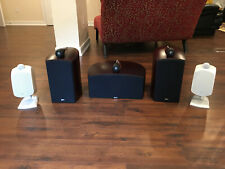 B&W ULTIMATE SURROUND SYSTEM Front Speakers - 805N, Center - HTM2, Rear - LM1