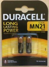 de 2 paquet Pile Alcaline Duracell 23A 12V Volt P23GA mn21 v23ga a23 BLISTER