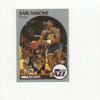 50 ct lot 1990/91 Hoops Karl Malone Cards!! #292 Utah Jazz HOF! MAILMAN