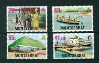 Montserrat 1977 Glendon Hospital full set of stamps. MNH. Sg 404-407.