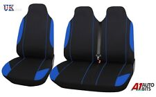 2+1 BLUE FABRIC SEAT COVERS FOR MERCEDES VITO W638 W639 SPRINTER W901