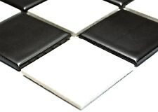BLACK&WHITE Mosaic tile Ceramic WALL & FLOOR BATHROOM & KITCHEN - 14-0304_b