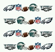 NFL Philadelphia Eagles nail art WATER DECALS  Free shipping Footbal nail art