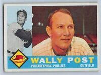 1960  WALLY POST - Topps Baseball Card # 13 - PHILADELPHIA PHILLIES