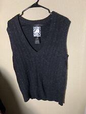 Tribal Womens Sweater Vest Size L