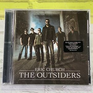 """The Outsiders Eric Church Audio CD """"The Outsiders"""" New Sealed"""