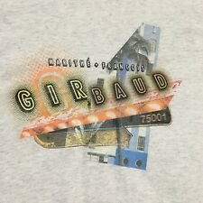 Marithe Francois Girbaud T Shirt 3XL Gray Short Sleeve 100% Cotton