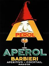 Commercial Advert Aperol Aperitif Alcohol Italy Poster Art Print Picture Bb1653a