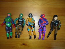 GI Joe Action Figures Mixed Lot 5 Hasbro 3.5 inch Assorted Characters Mixed J