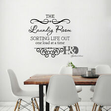 Quote Laundry Room Wall Sticker Home Decor Popular Vinyl Removable Art Decal