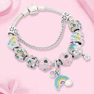 Little Girls Charm Bracelet