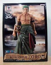 Banpresto One Piece Master Star Piece Roronoa Zoro Special Version Anime Statue