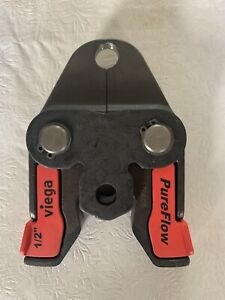 "Viega Pure Flow Press Jaws 1/2"""