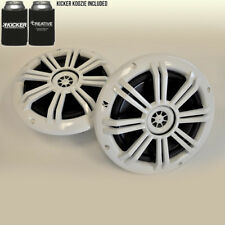 """Kicker White OEM Replacement Marine 6.5"""" Coaxial speakers"""