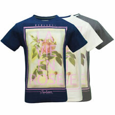 Cotton Floral Regular Size T-Shirts for Men