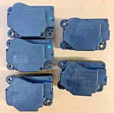 Volvo XC90 Heater AC Climate Control Actuators / Motors Set 30676510 30676511
