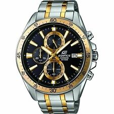 Casio EFR-546SG-1AVUEF Edifice Two Tone Steel Bracelet Watch for Mens