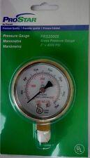 "PRAXAIR ProStar PRS20005 Welding Brass Pressure Gauge 2"" x 4000 PSI"