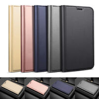 For Xiaomi Redmi Note 8 7 6 5 Pro Magnetic Wallet Leather Case Flip Slim Cover