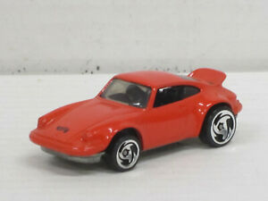 Porsche 911 RS in rot, ohne OVP, Hot Wheels, ca. 1:64