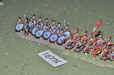 25mm roman era / roman - infantry 24 figs - inf (10775)