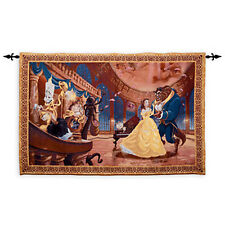Disney Parks Beauty and the Beast Tapestry Wall Hanging