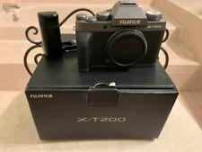 Fujifilm X-T200 24.2 MP Mirrorless Camera - Dark Silver (Body Only)
