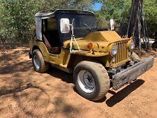 New listing 1951 Willys Cj M38
