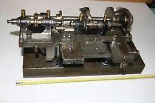 Ancien tour sur banc horlogerie clock makers Swiss Automatic Lathe
