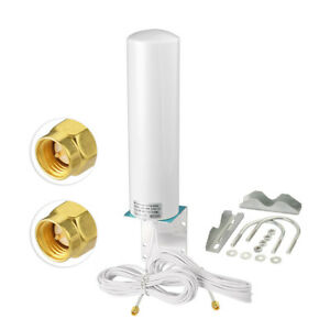 Wide-Band 3G/4G/LTE Omni Outdoor Pole/Wall Mount Antenna for Verizon,AT&T,Sprint