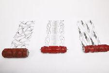 3 antike Musterwalzen Malerwalzen Strukturwalzen 15cm patterned paint roller K2