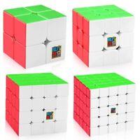 1x Moyu Mofangjiaoshi Speed Cube 2x2 3x3 4x4 5x5 Stickerless Puzzle Magic Cube